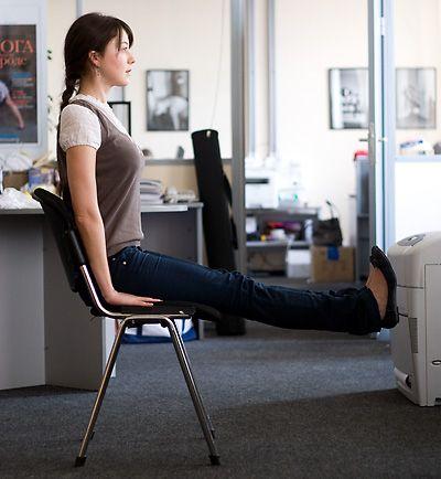 Как происходит фитнес на рабочем месте