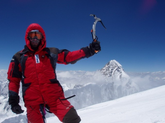 приснился альпинист