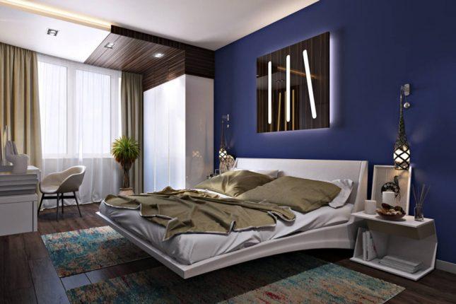 Дизайн спальни по феншуй праивлам