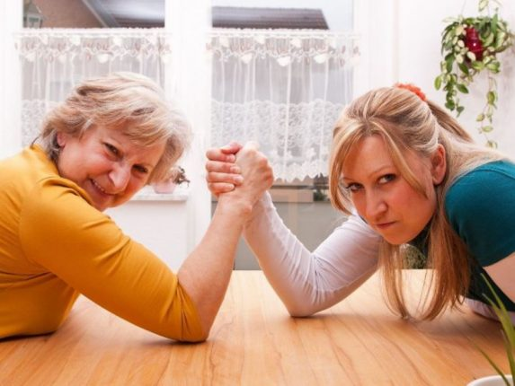 История о маме и дочке