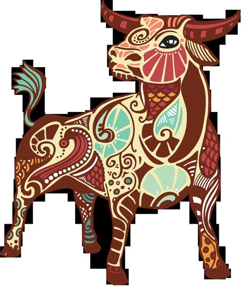 Татуировка знак зодиака телец на запястье