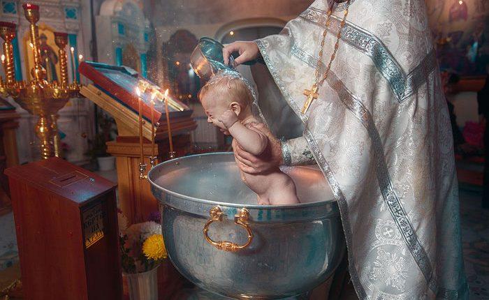 Крещение ребенка: правила