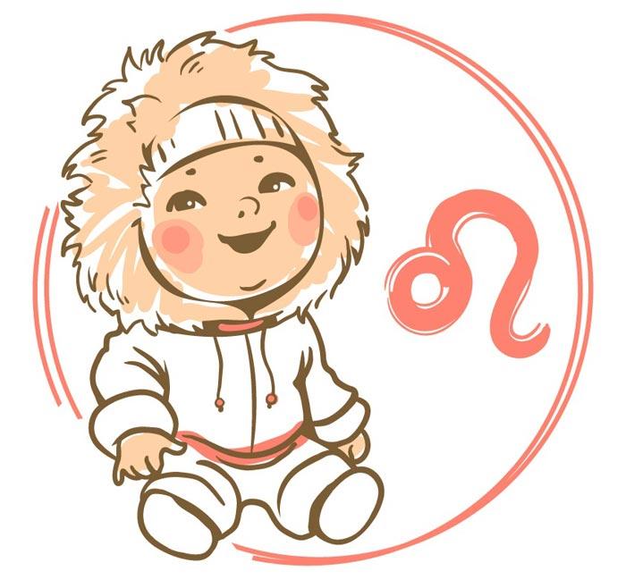 Характеристика знака зодиака лев ребенок девочка