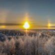 В Ямало-Ненецком округе проявилось солнечное гало. Это нужно видеть! (Видео)