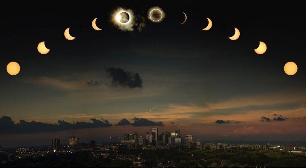 Солнечные и лунные затмения 2019 года – даты, время и видимость в России